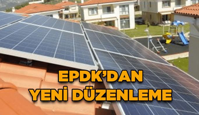 EPDK'dan yeni düzenleme