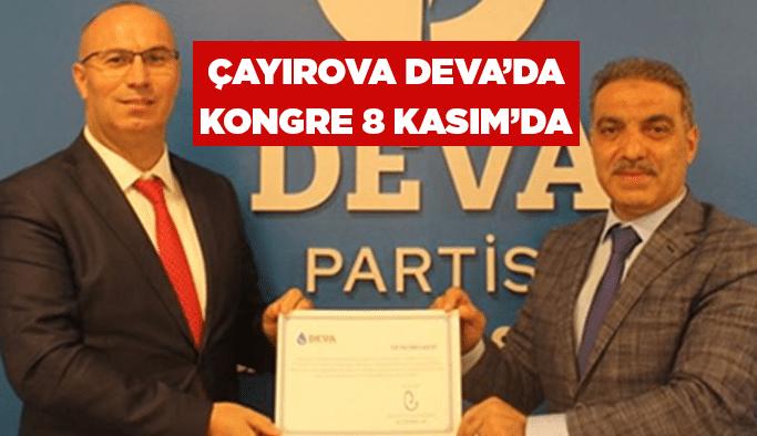 Çayırova Deva'dakongre 8 Kasım'da