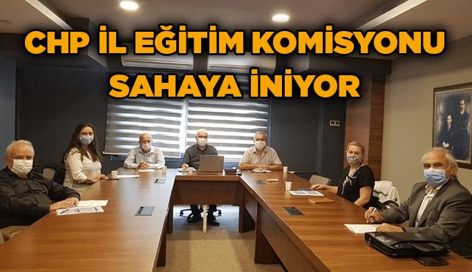 CHP İl Eğitimkomisyonu sahaya iniyor