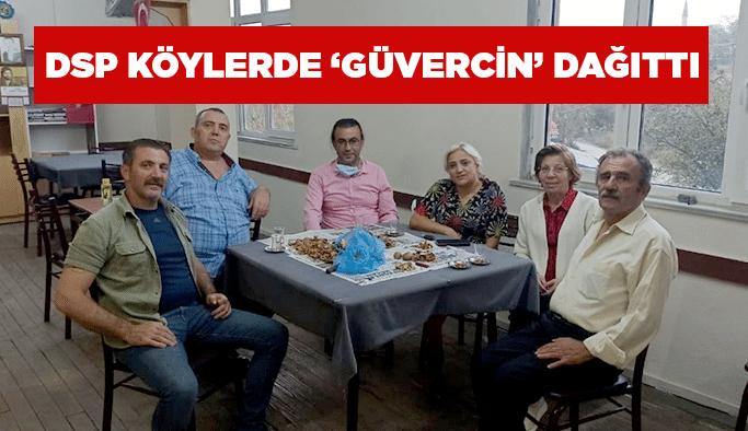 DSP köylerde 'Güvercin' dağıttı