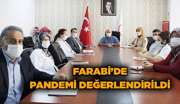 Farabi'de pandemi değerlendirildi