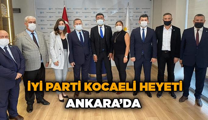 İYİ Parti Kocaeli heyeti Ankara'da