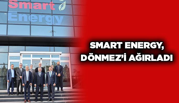 Smart Energy, Dönmez'i ağırladı