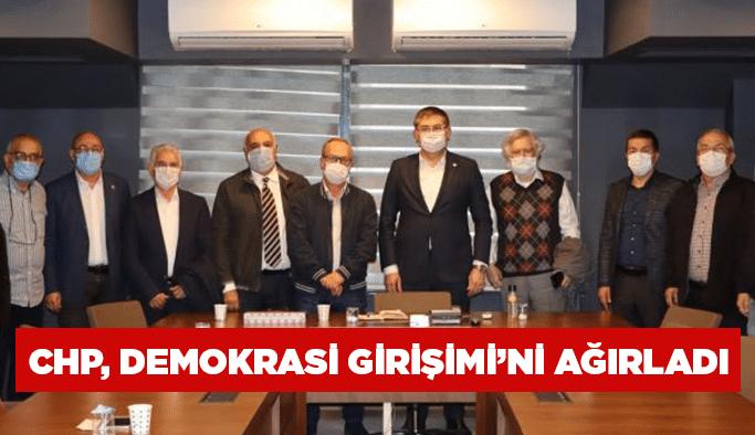 CHP, Demokrasi Girişimi'ni ağırladı