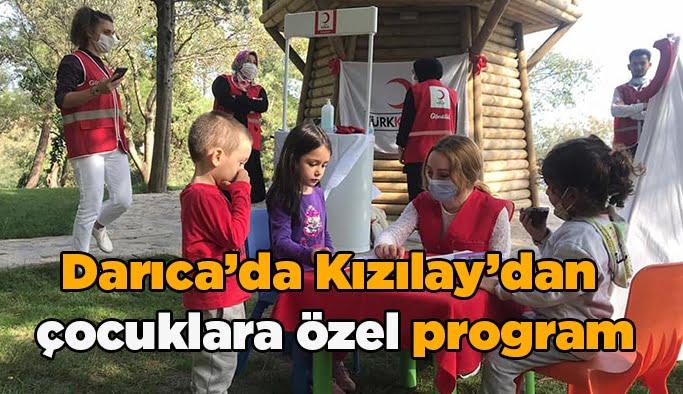 Darıca'da Kızılay'dan  çocuklara özel program