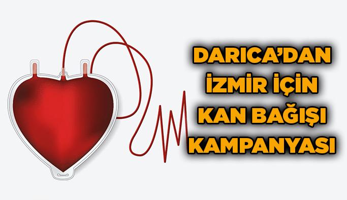 Darıca'dan İzmir içinkan bağışı kampanyası