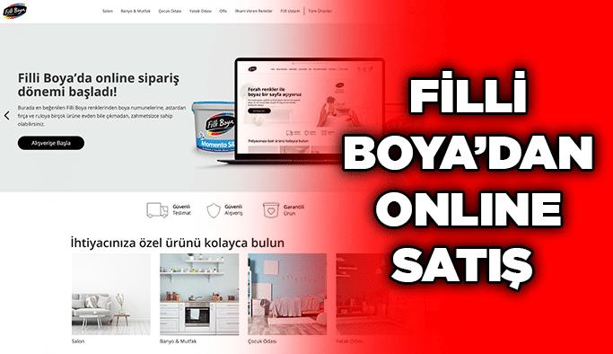 Filli Boya'dan online satış