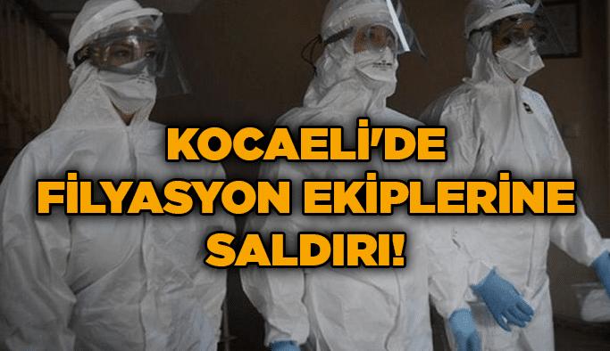 Kocaeli'de filyasyon ekiplerine saldırı!