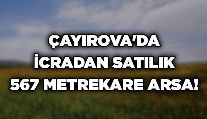Çayırova'da icradan satılık 567 metrekare arsa!