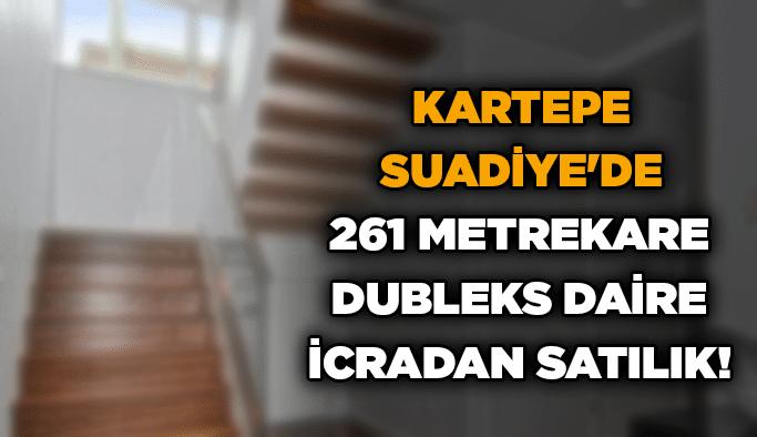 Kartepe Suadiye'de 261 metrekare dubleks daire icradan satılık!