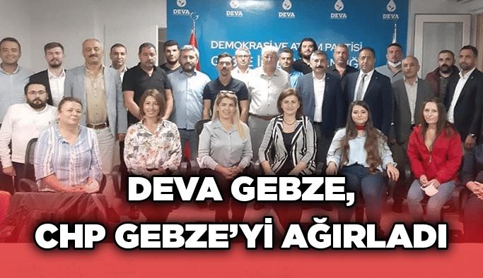 DEVA Gebze, CHP Gebze'yi ağırladı
