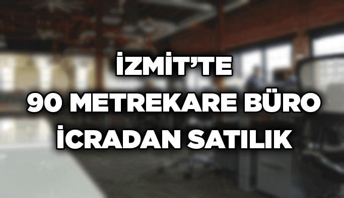 İzmit'te 90 metrekare büro icradan satılık